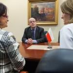 Zastępca Szefa Misji Ambasady Irlandii w Warszawie Pádraig Francis